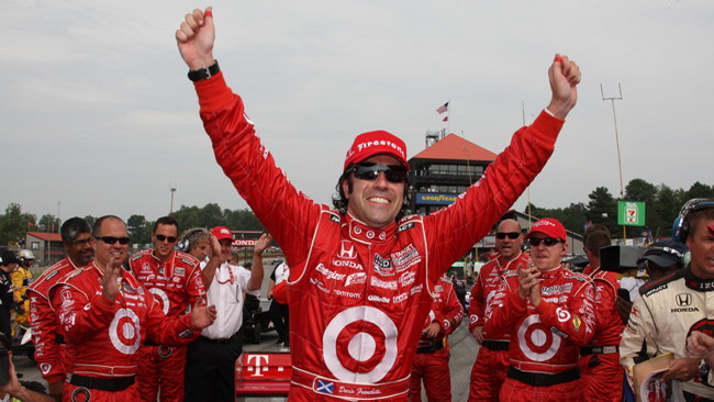 Franchitti ha la meglio su Power a Mid-Ohio