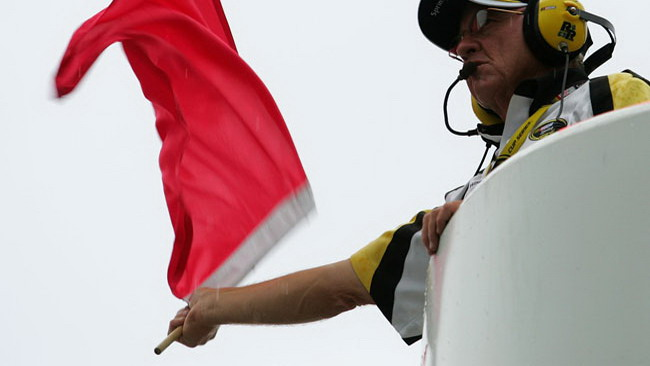 Bandiera rossa in Moto2
