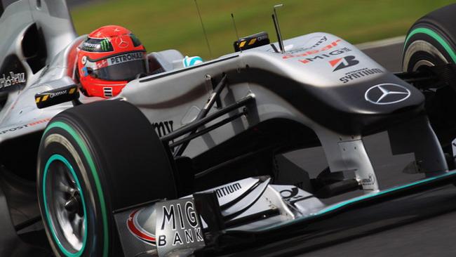 Schumi mette le mani avanti per Monza