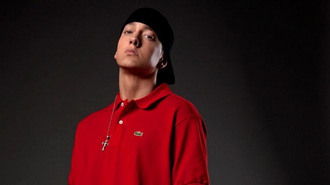 Eminem in concerto al Gp del Brasile