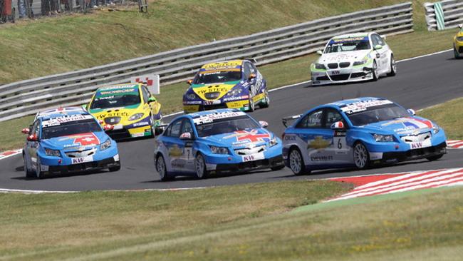 La Chevrolet conferma Muller, Huff e Menù