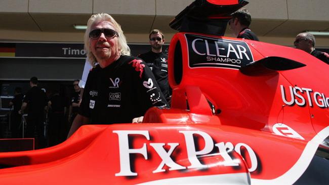 Branson conferma il supporto alla Virgin per il 2011