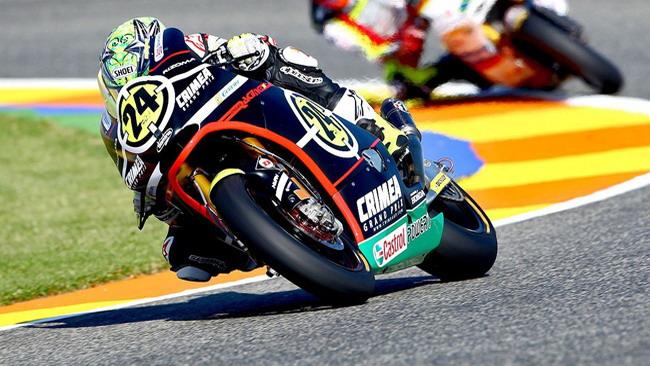 Elias saluta la Moto2 con una pole position