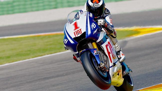 Valencia, day 1: Lorenzo al top, Rossi chiude decimo