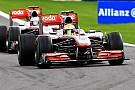 Button ed Hamilton saltano i test Pirelli
