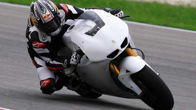 Rea entusiasta del suo test con la Honda MotoGp