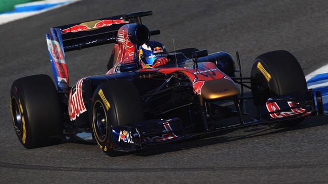 La Toro Rosso porta Ricciardo anche a Barcellona