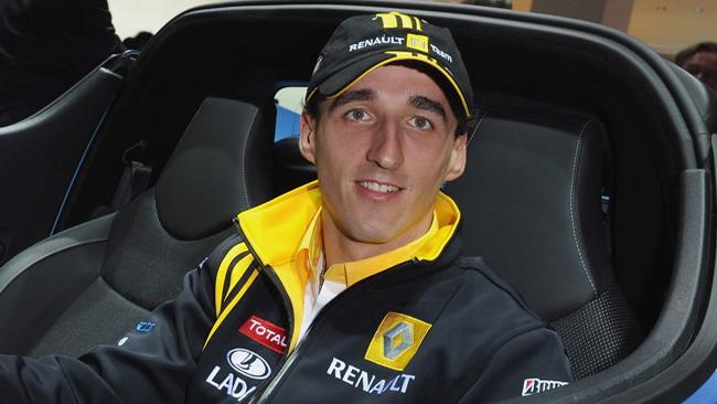 Kubica ha iniziato gli esercizi per la mano destra