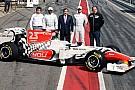 Presentata a Barcellona la HRT F111
