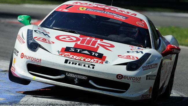 Stefano Gai apre a Monza l'era della 458 Challenge