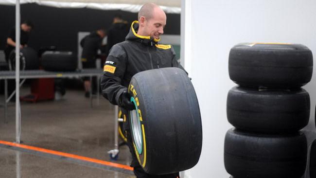 Il rischio pioggia non preoccupa la Pirelli