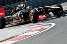 La Lotus Renault presenta l'ala di... gabbiano