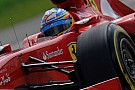 Nurburgring, Libere 1: Alonso e la Ferrari al top