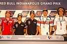 La conferenza stampa apre il weekend di Indianapolis