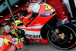 MotoGP Ultime notizie Valentino prova la Ducati con il telaio in alluminio!