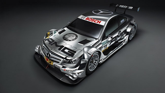 La Mercedes svela la Classe-C Coupè DTM 2012