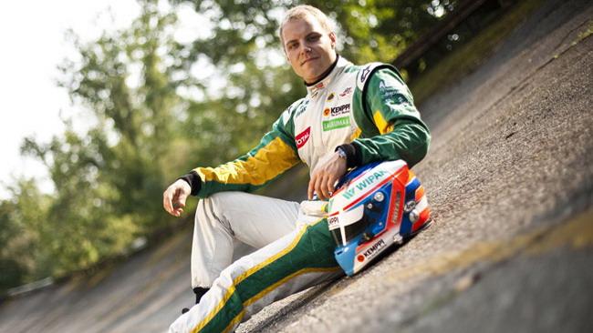 Bottas sviluppa la GP3 2013 a Barcellona