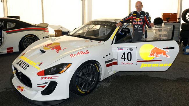 Adrian Newey corre nel Trofeo Maserati al Mugello