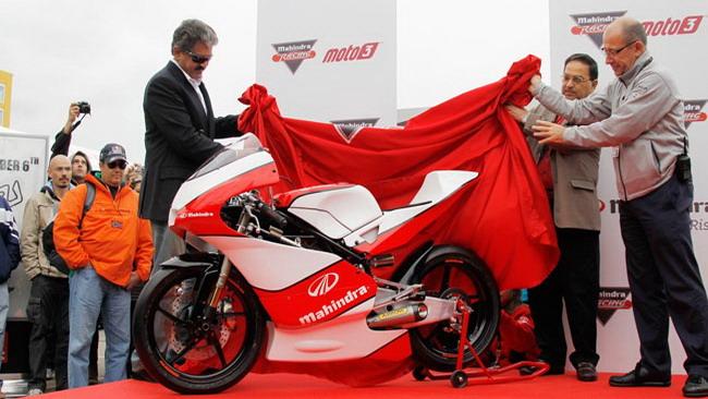 Presentata a Valencia la Mahindra classe Moto3