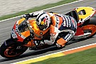 Test Valencia, Day 1: Pedrosa batte Stoner in extremis