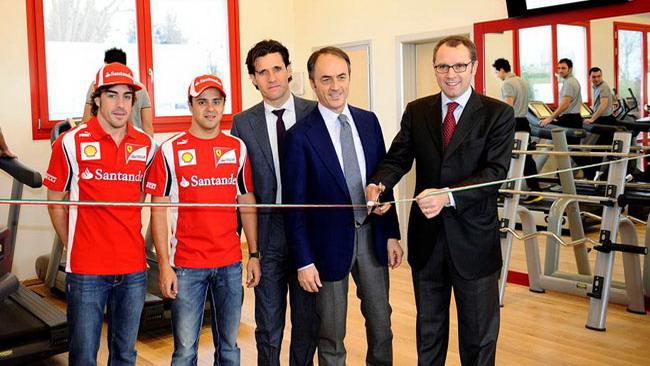 Inaugurata la nuova palestra della Ferrari