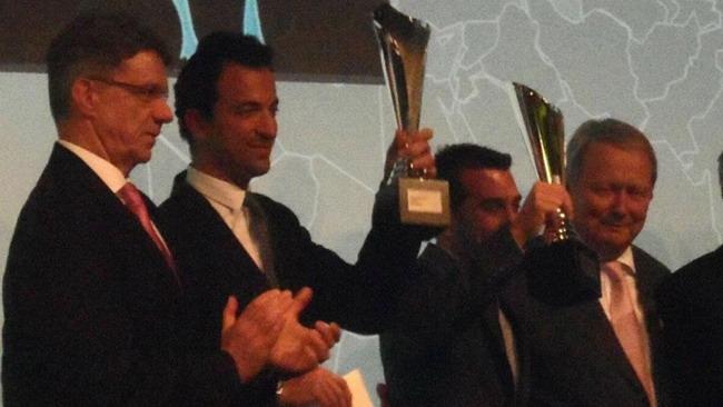 Ruberti premiato alla Porsche Night of Champions
