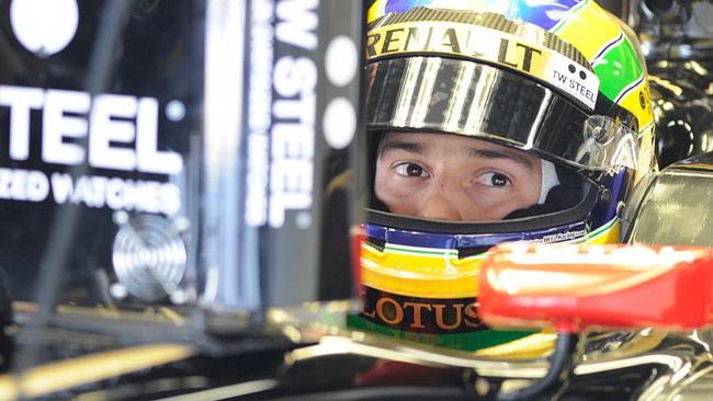 Bruno Senna visita la factory della Williams