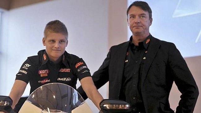 Una KTM ufficiale per il finlandese Niklas Ajo