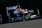 Bianchi inizia ad acclimatarsi in Force India