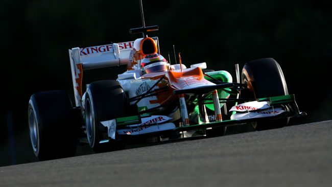 Bianchi inizia ad acclimatarsi in Force India