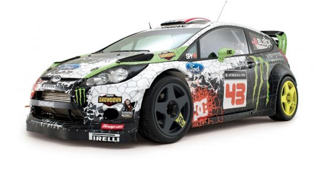 Programma di tre gare nel WRC 2012 per Ken Block