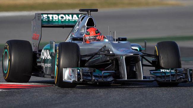 Barcellona, Day 3: Schumacher va al comando