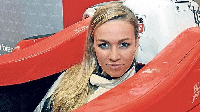 Un'altra ragazza in GP3: Carmen Jorda con la Ocean