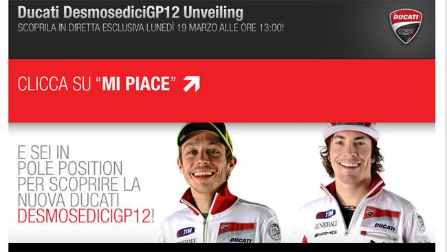 Ducati GP12: cresce l'attesa per la presentazione