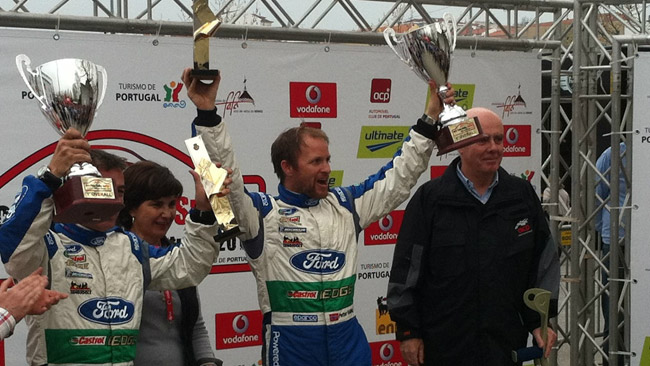 Prima vittoria con la Ford per Petter Solberg