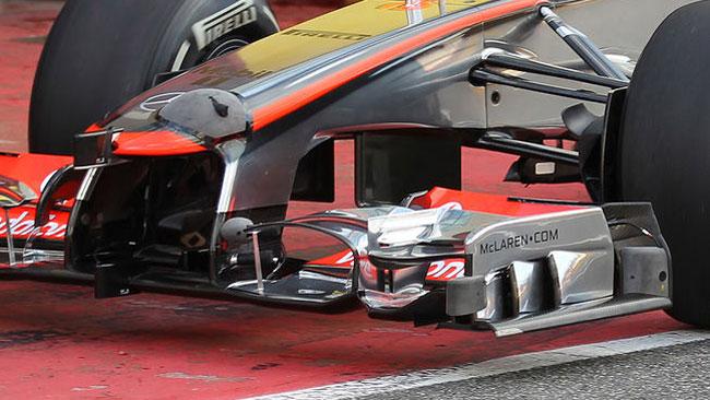 La McLaren è un laboratorio pieno di sensori!