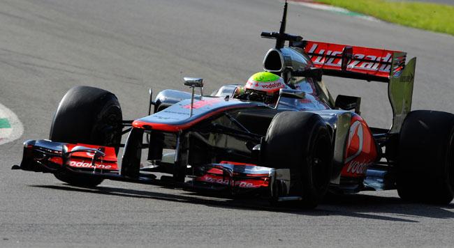 E' ufficiale: la McLaren usa il muso più alto!