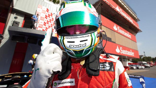 Antonio Felix da Costa in pole a Barcellona