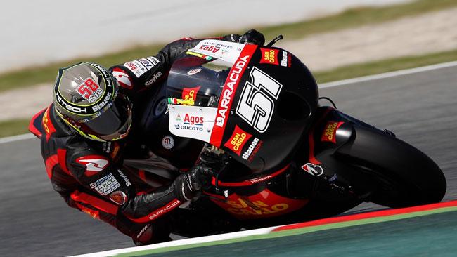 Il caldo tormenta il Team Gresini nei test di Aragon