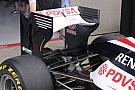 La Williams con l'ala a cucchiaio rovesciato