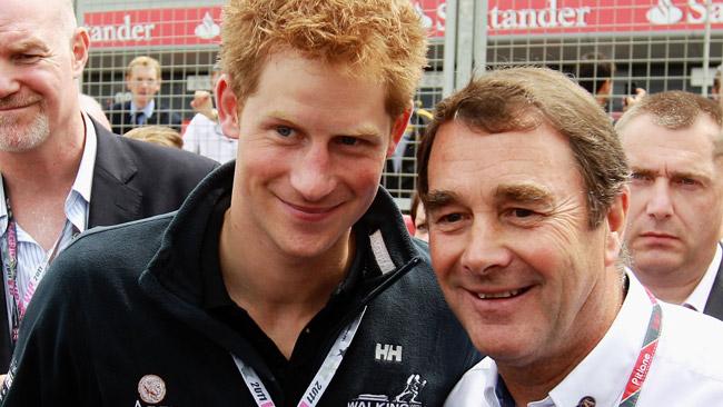 Nigel Mansell commissario FIA a Silverstone