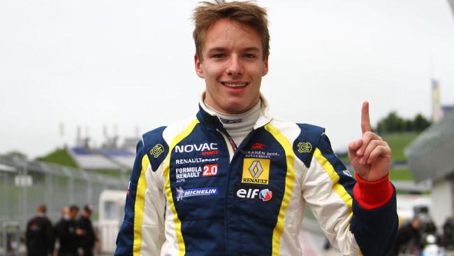 Prima pole position per Victor Franzoni