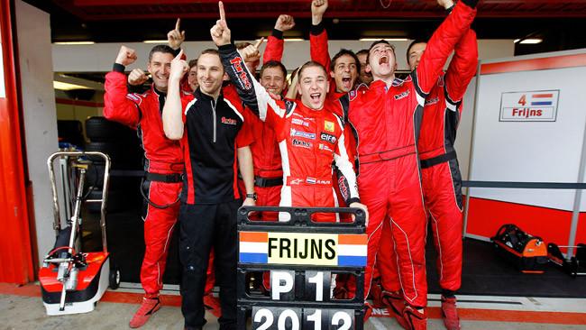 Frijns girerà anche con la Red Bull nei Rookie Test