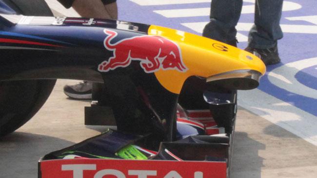 E' arrivato il muso della Red Bull con la pancia!