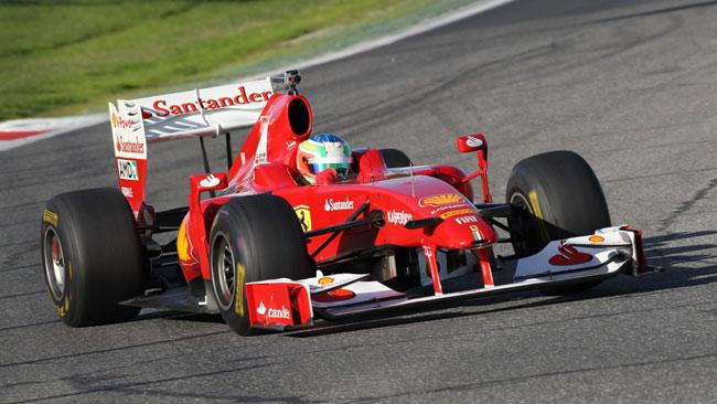Agostini e Cheever soddisfatti del test con la Ferrari