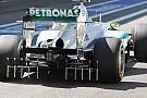 La Mercedes nelle libere era un laboratorio di sensori