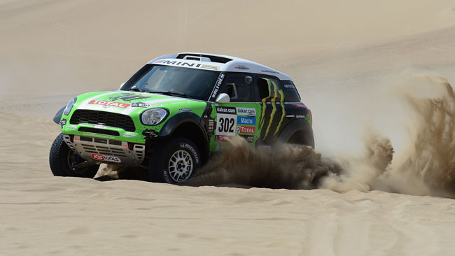 Dakar, 2° Tappa: Peterhansel va all'attacco