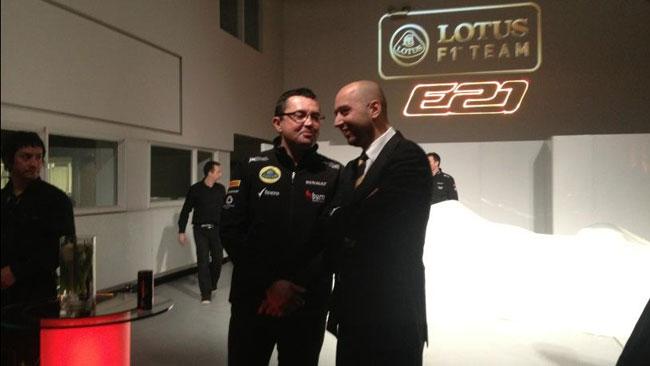 Boullier vuole vedere la Lotus sul podio del Costruttori