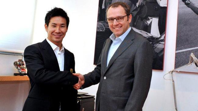 La Ferrari ingaggia Kobayashi per il FIA WEC