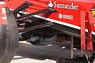 La Ferrari con un tris di turning vanes